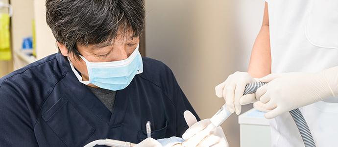 ハイレベルを目指した総合歯科診療